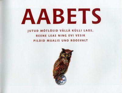Aabets_tiitelleht