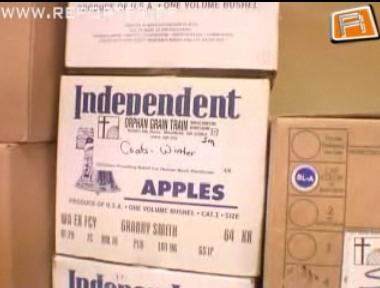 Paidesse jõudis kümme tonni annetusriideid USAst 2
