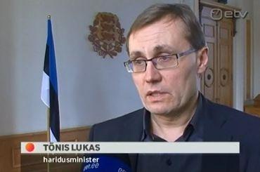 Haridusminister Tõnis Lukas