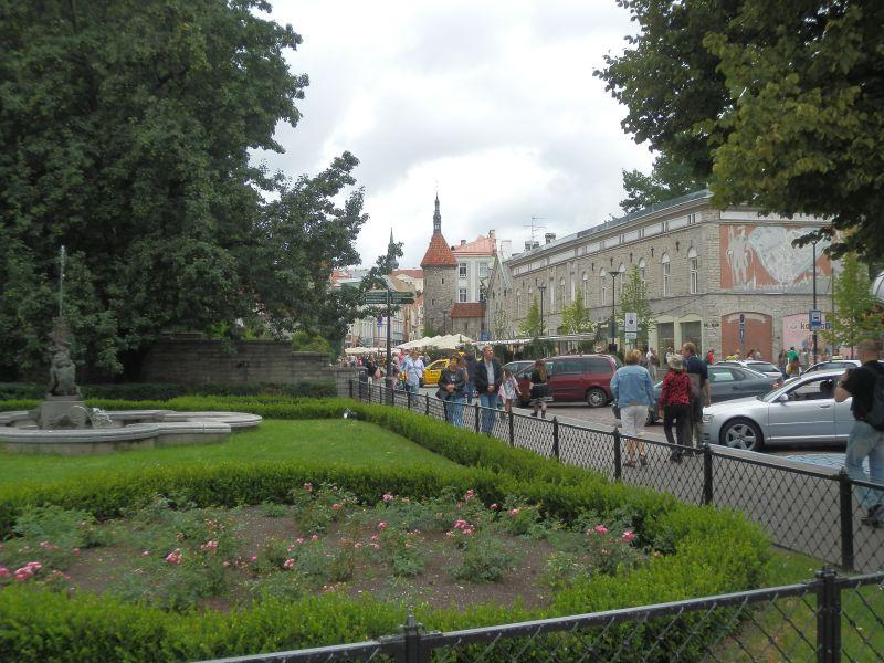 Viru tänav aug. 2011