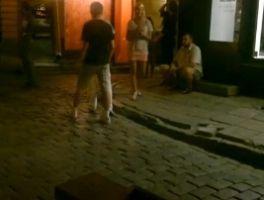 Öised pidutsejad vanalinnas