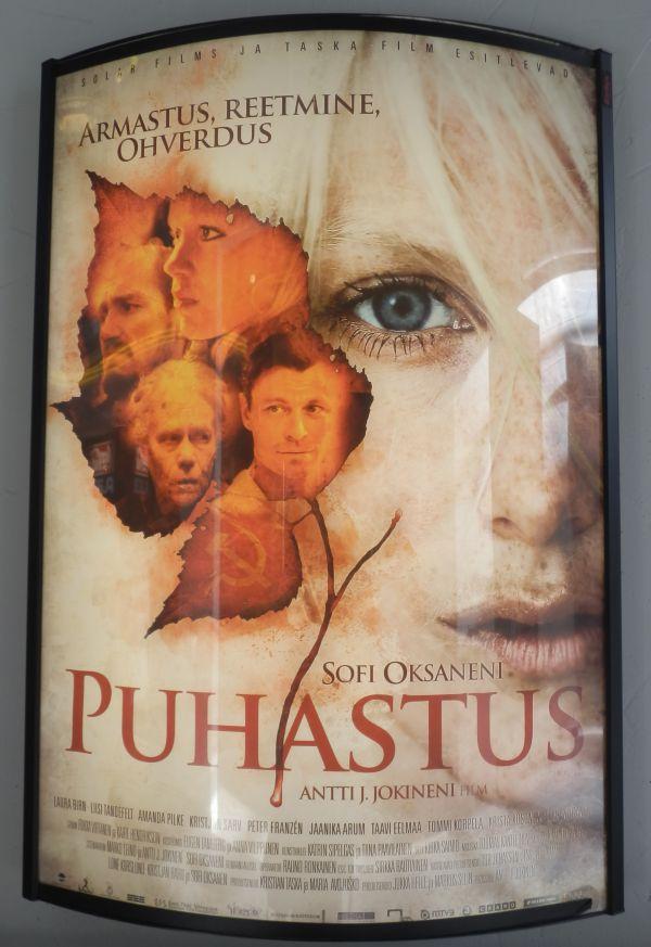 Puhdistus, poster
