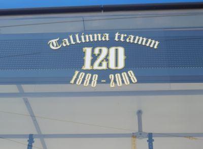 Tallinna tramm 120 1888-2008
