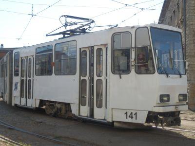 Tallinna trammid: valge