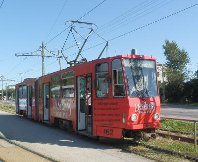 Tallinna trammid: punane