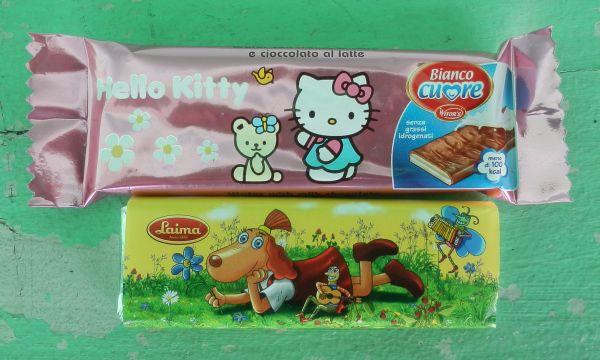 Hello Kitty vs Lotte