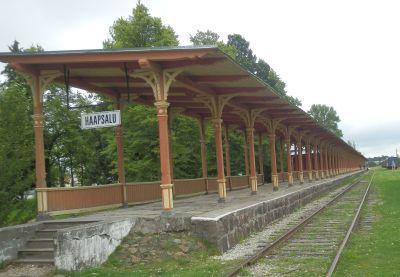 Haapsalu raudteejaama platvorm