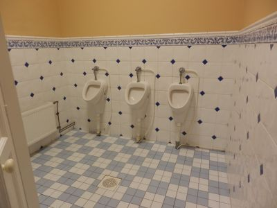 Haapsalu raudteejaam. WC.